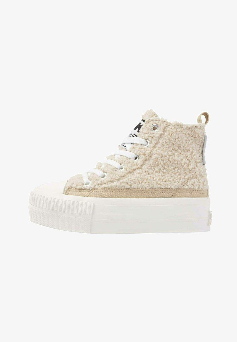 British Knights - KAYA MID - Sneakers hoog - beige / white