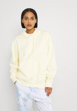 ALISA HOODIE - Hoodie - light yellow