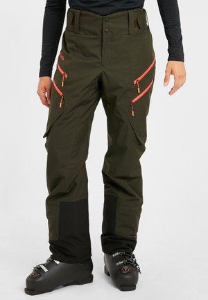 Pantalones montañeros largos - khaki