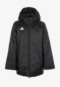 adidas Performance - CORE 18 STADIUM FILLED - Waterproof jacket - black/white - 0