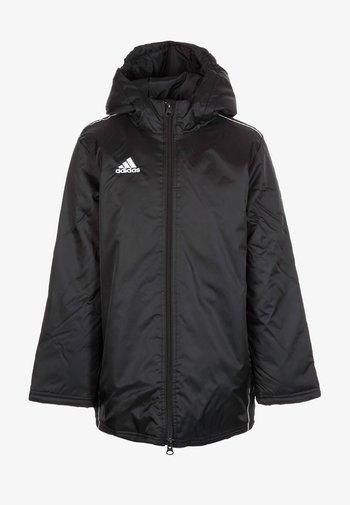 CORE 18 STADIUM FILLED - Waterproof jacket - black/white