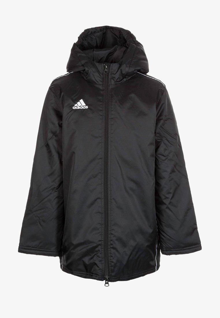 adidas Performance - CORE 18 STADIUM FILLED - Waterproof jacket - black/white