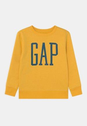 LOGO CREW - Sweatshirt - pale gold