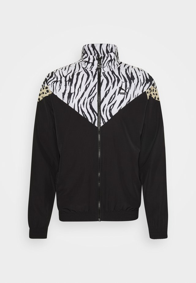 CLASSICS GRAPHICS TRACK - Training jacket - black/white