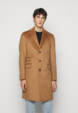 OVERCOAT WOOL CLOTH REGULAR - Classic coat - camel