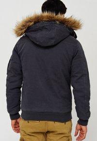 INDICODE JEANS - Winter jacket - dk grey - 2