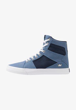 ALUMINUM - Zapatillas altas - horizon/navy/white