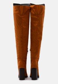 Even&Odd - High heeled boots - cognac - 3