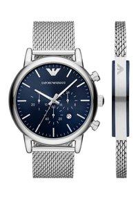 Emporio Armani - Chronograph watch - silver - 0