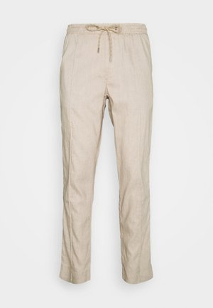 PINTUCK PANT - Kalhoty - beige