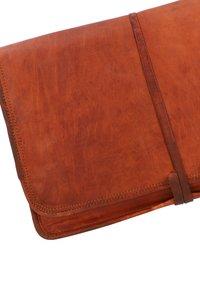 Gusti Leder - Laptop bag - brown - 5