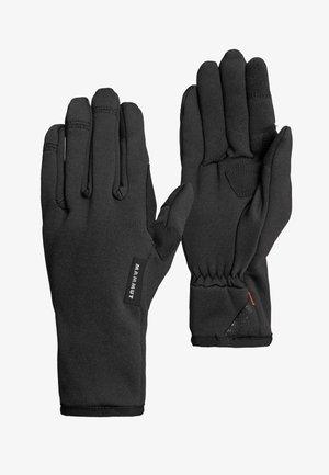 Rękawiczki pięciopalcowe - black