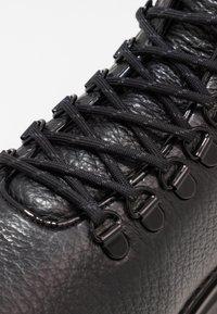 Nubikk - FAE ROMA - Platåstøvletter - black - 2