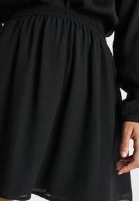 Even&Odd - A-snit nederdel/ A-formede nederdele - black - 4