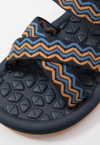Jack Wolfskin - ZULU - Walking sandals - blue/orange - 2