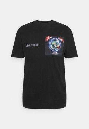 DEEP PURPLE TEE - Print T-shirt - black