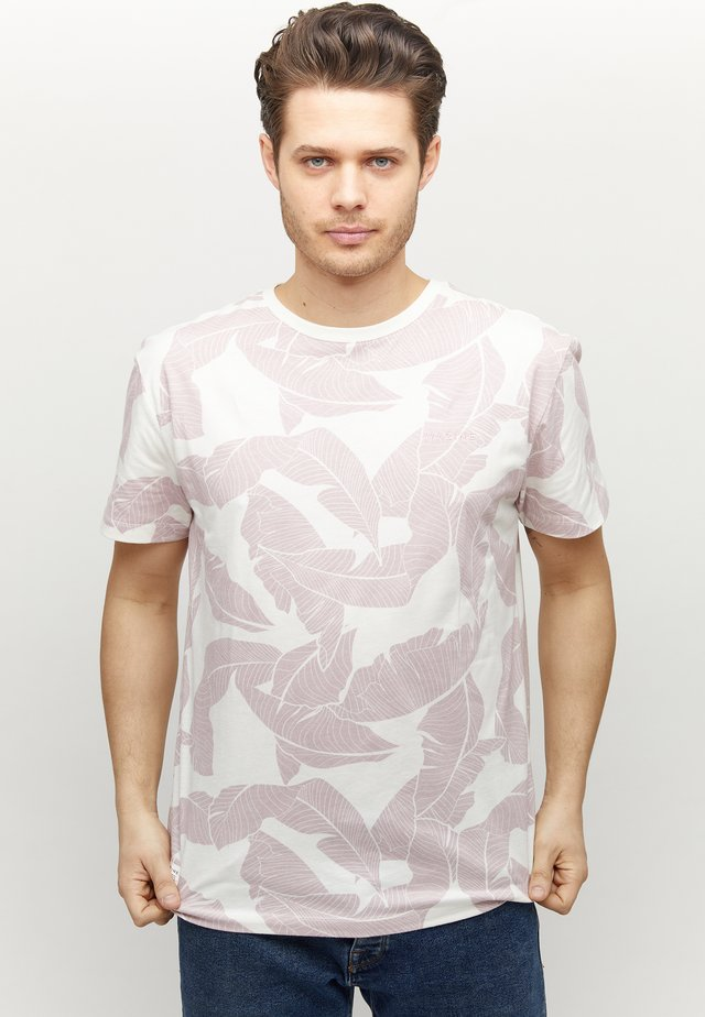 FINDON - T-shirt med print - offwhite