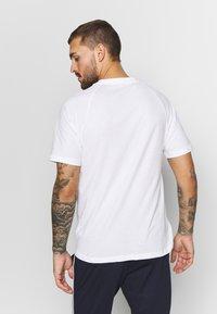 adidas Performance - TEE - Print T-shirt - white - 2