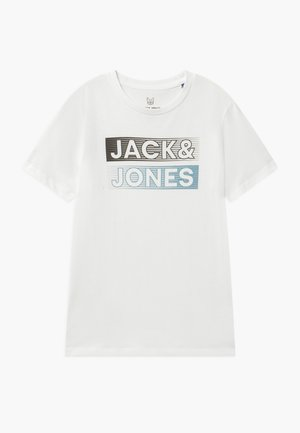 JCOBOOSTER TEE CREW NECK - Print T-shirt - cloud dancer