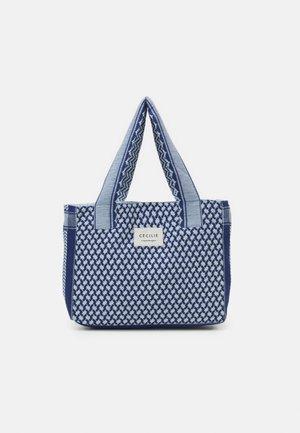 BAG SMALL SIGNATURE - Velká kabelka - twilight blue