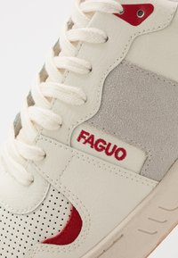 Faguo - BASKETS CEIBA - Sneakersy niskie - white - 5