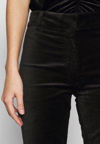 Weekday - RYDEL TROUSER - Trousers - black - 5