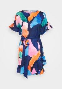 Never Fully Dressed Petite - ARTIST PRINT MARAKESH DRESS - Vapaa-ajan mekko - navy multi - 4