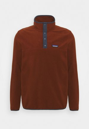 MICRO SNAP - Fleece jumper - fox red