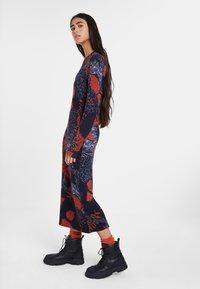 Desigual - VEST DAVID - Długa sukienka - blue - 1