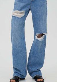 PULL&BEAR - Jeans Straight Leg - stone blue denim - 3