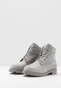 Timberland - 6 IN PREMIUM WP BOOT - Lace-up ankle boots - medium grey - 3