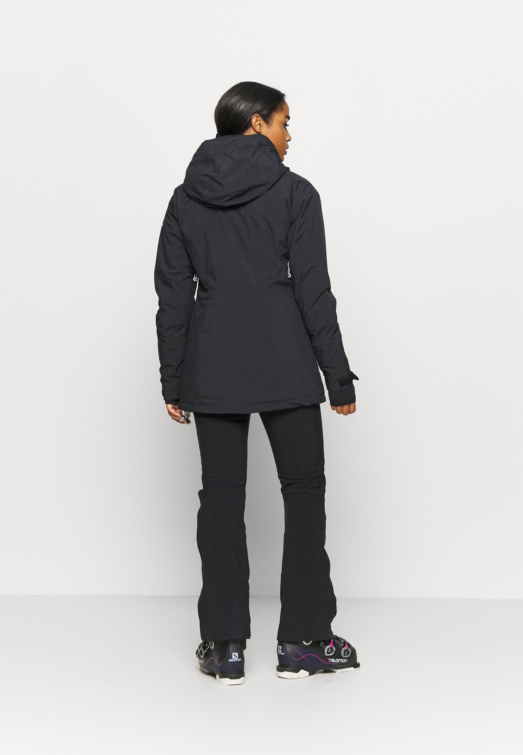 Columbia DUST ON CRUST INSULATED JACKET - Ski jacket - black snqTm