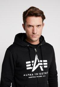 Alpha Industries - Zip-up hoodie - black - 4