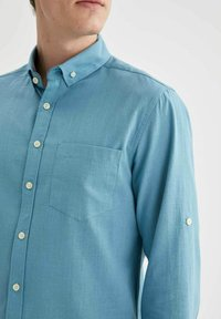 DeFacto - Formal shirt - blue - 4
