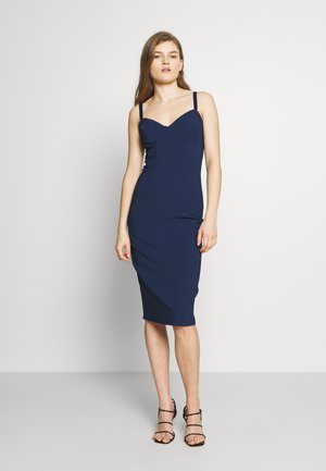 Robe fourreau - blue navy