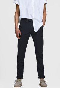 Jack & Jones PREMIUM - Trousers - dark navy - 0