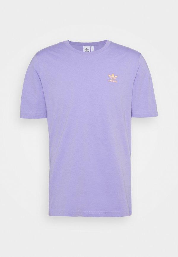adidas Originals ESSENTIAL TEE - T-shirt basic - light purple/fioletowy Odzież Męska CXYJ