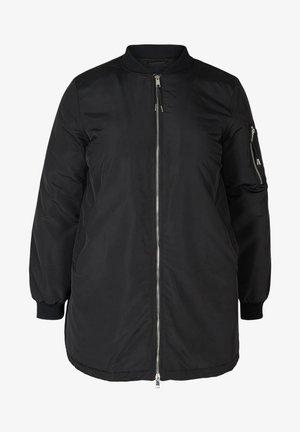 MIT TASCHEN - Bomber Jacket - black