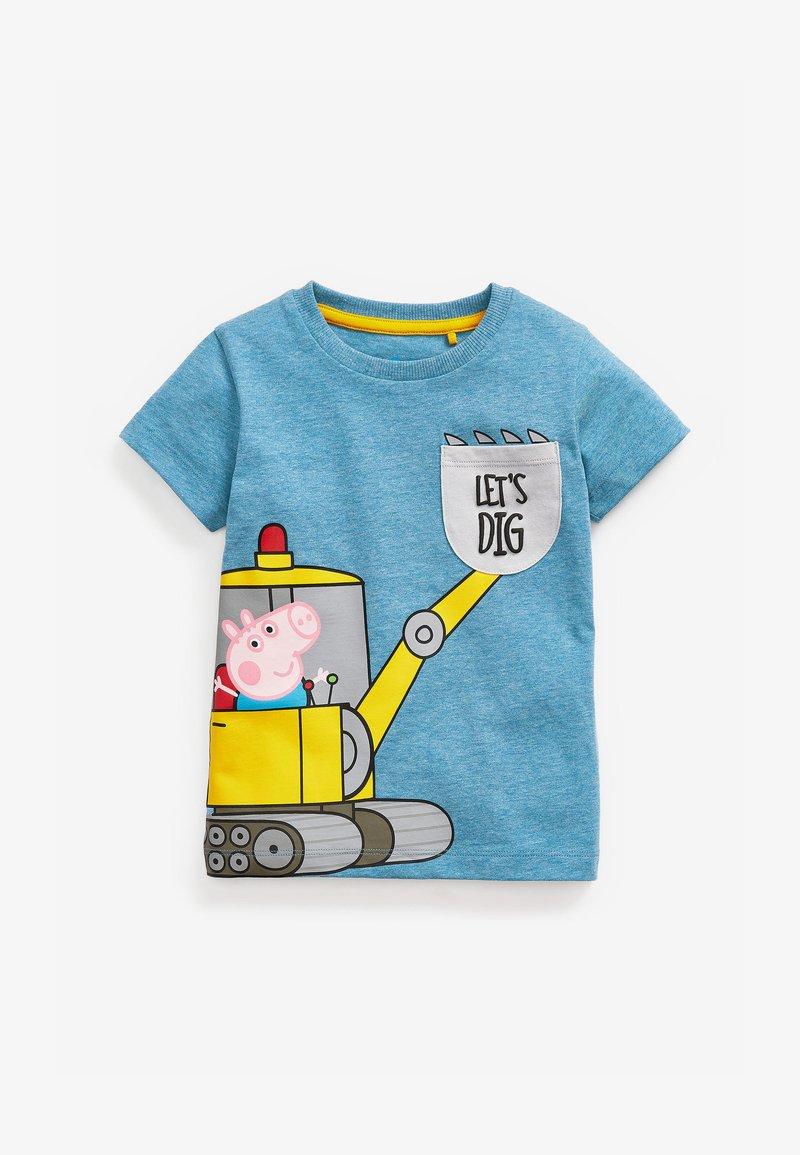 Next - T-shirt print - blue-grey