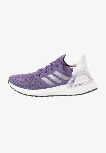 ULTRABOOST 20  - Neutral running shoes - tech purple/silver metallic/footwear white