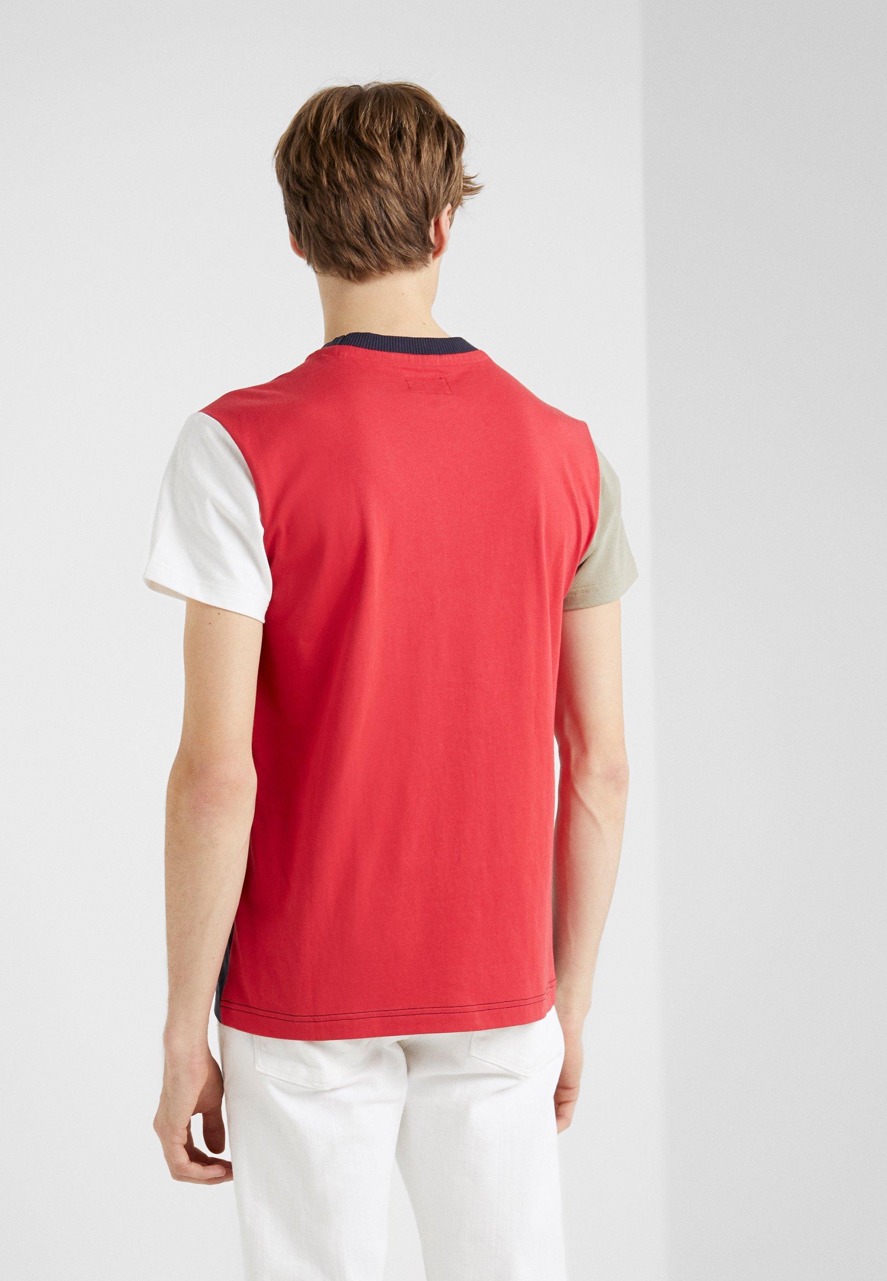 Hackett London ARMY MULTI TEE - T-shirt imprimé - navy/multi