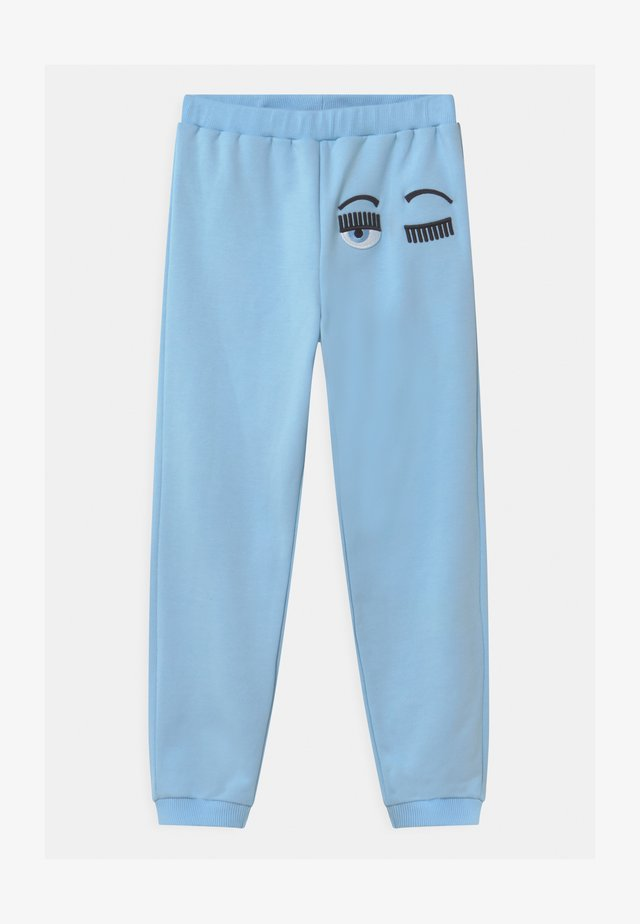 FLIRTING - Pantalon de survêtement - light blue