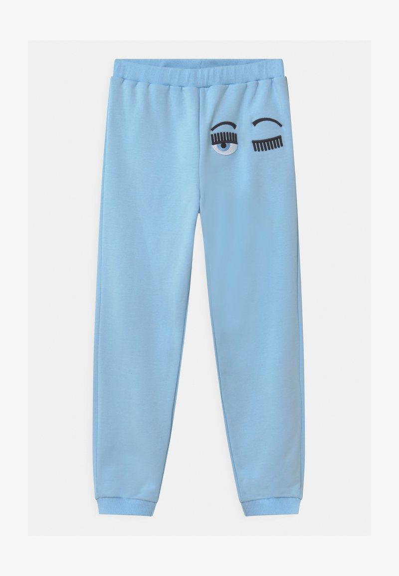 CHIARA FERRAGNI - FLIRTING - Tracksuit bottoms - light blue