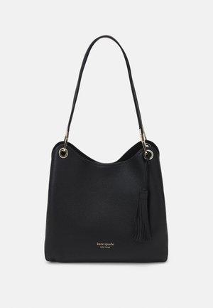 LARGE SHOULDER BAG - Handbag - black