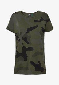 ALLOVER TOP - Print T-shirt - green