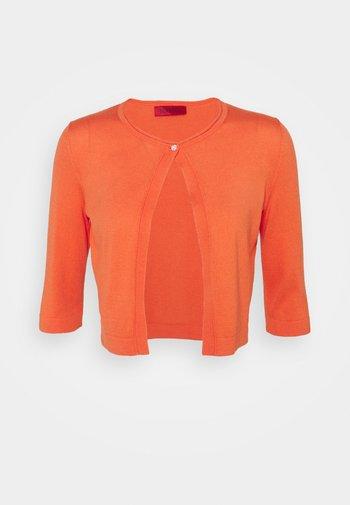 PUZZLE - Cardigan - orange