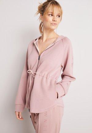 TAILORED - Zip-up hoodie - pink