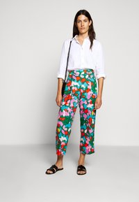 J.CREW - PERFECT IN BAIRD - Button-down blouse - white - 0