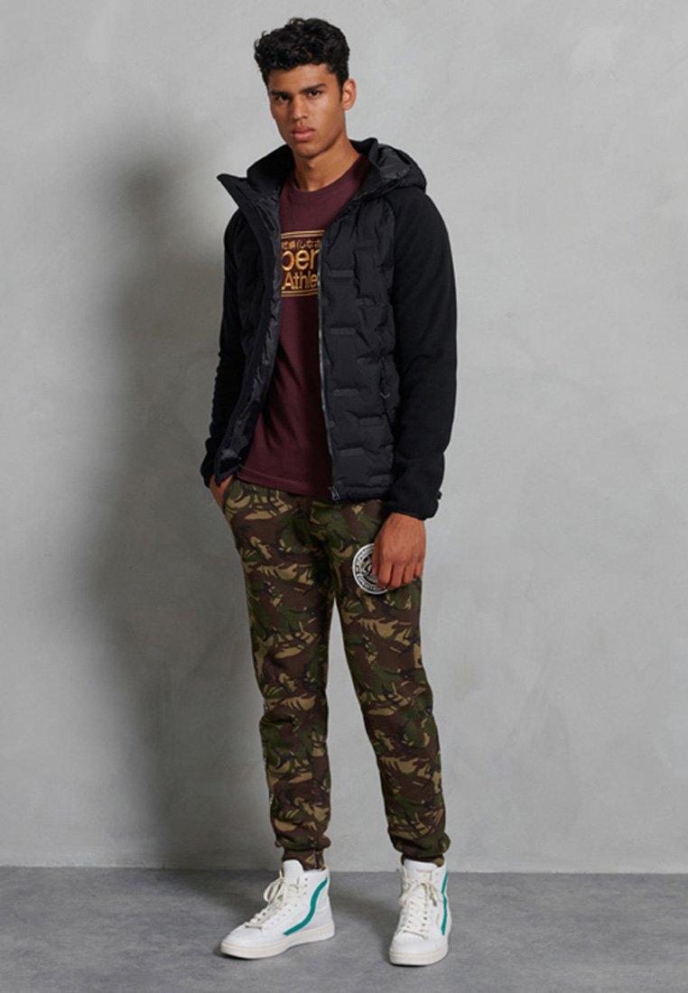 Superdry - SONIC CITY HYBRID - Zip-up hoodie - black