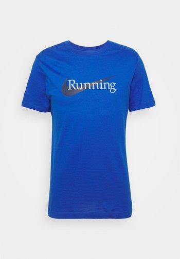 TEE - Print T-shirt - game royal/black